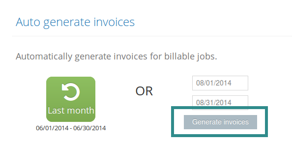 Faq – I Want To Automatically Generate Invoice(S) From Jobs